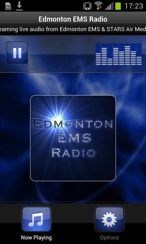 Edmonton EMS Radio - screenshot