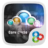 Core circle GO Launcher Theme