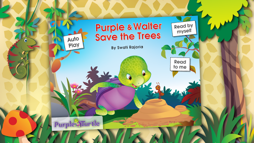 Purple Turtle: Save the Trees
