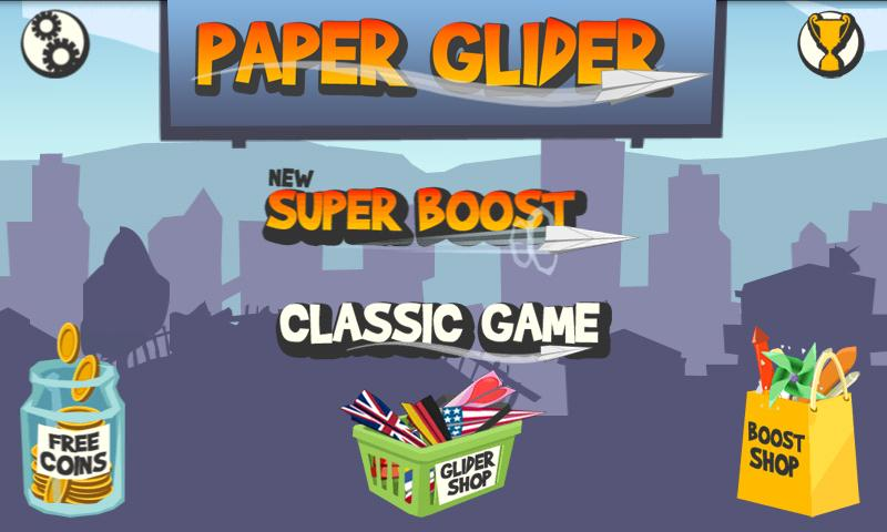 Paper Glider - screenshot