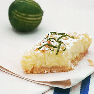 Key Lime Coconut Bars.