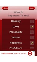 Screenshot of Dating Decision Maker