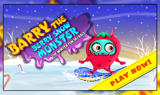 Barry the Berry Snow Monster +