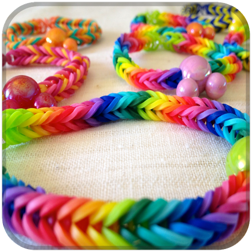 Rubber Band Bracelets Learn To LOGO-APP點子