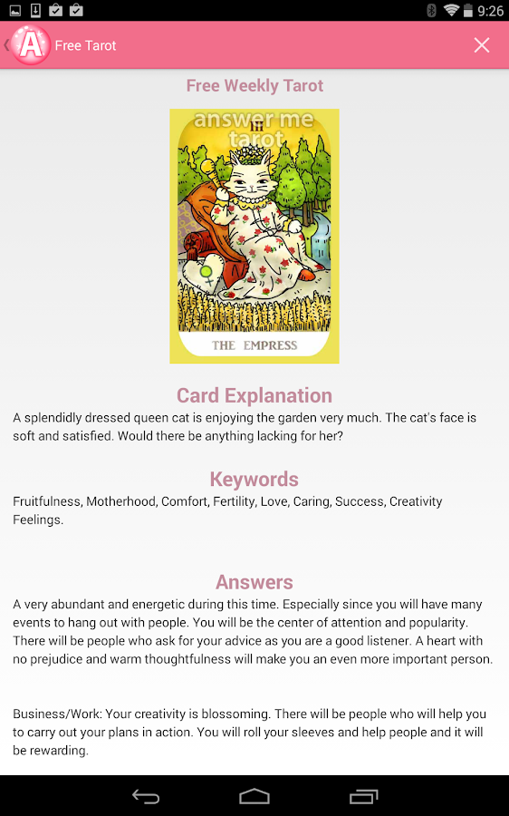 Weekly Tarot Reading I Healingtarotnet: Answer Me Tarot Card Reading