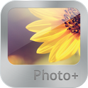 Photo + (gallery) icon