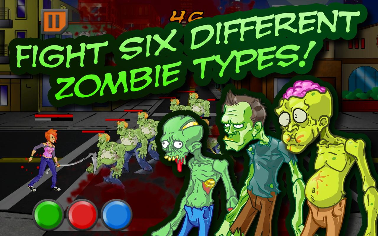 ZomNomNom Free - Zombie Game - screenshot