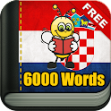 Learn Croatian - 6,000 Words icon