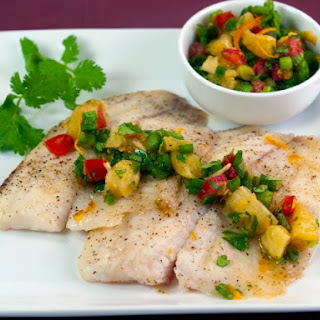 Tilapia With Zesty Orange Salsa
