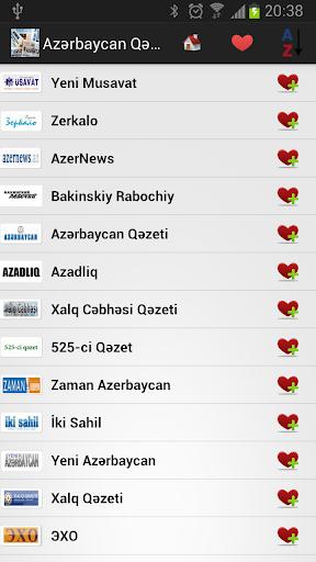 Azerbaycan Gazeteleri
