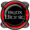 Bionic Launcher Theme Red logo