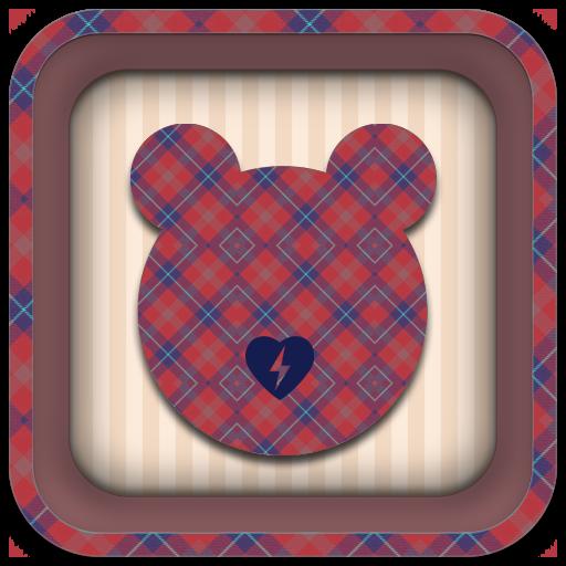 キュートなアニマルのカラフルバッテリーVol.4 工具 App LOGO-APP試玩