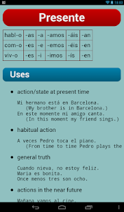 Spanish Verbs- screenshot thumbnail
