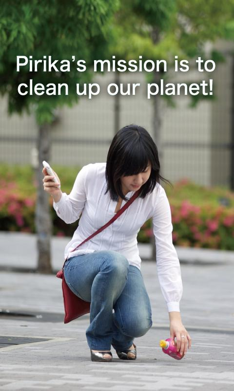 PIRIKA-cleaning the world- - screenshot
