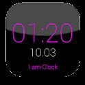 I am Clock icon