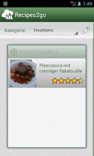 Recipes2go - Rezepte unterwegs- screenshot thumbnail