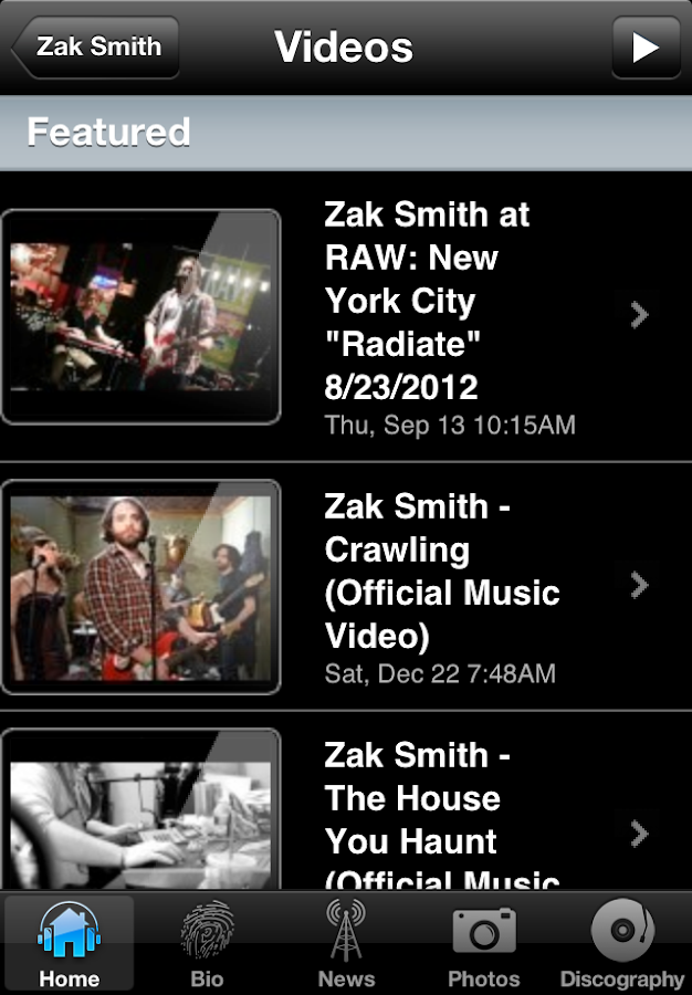 Zak Smith - screenshot