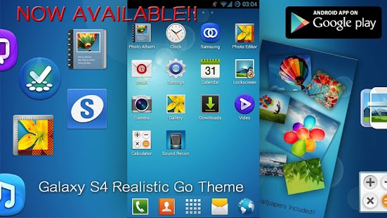 Galaxy S3 Go SMS Pro Theme - screenshot thumbnail