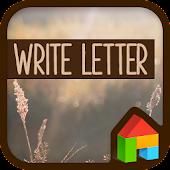 Write letter dodol theme