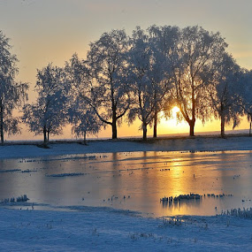 by Hilde Lorgen - Landscapes Sunsets & Sunrises