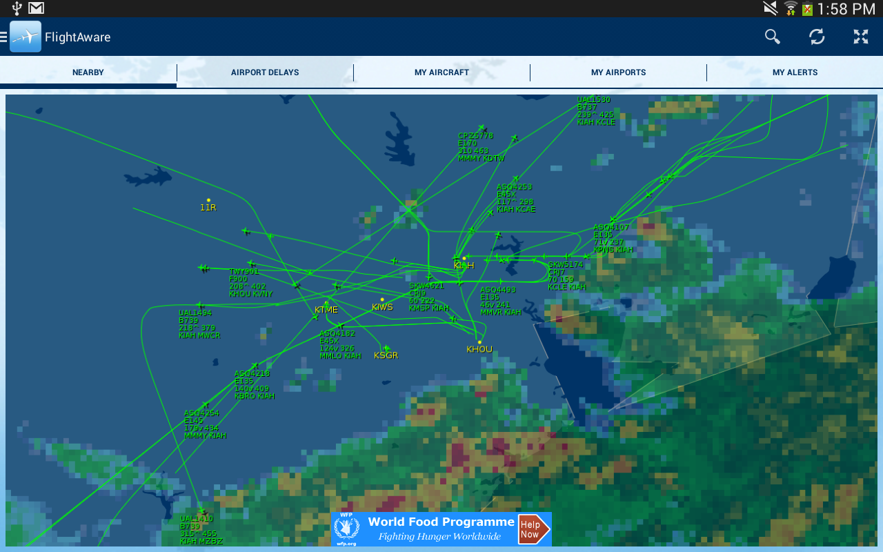 Real Time Travel Details Of A Flight
