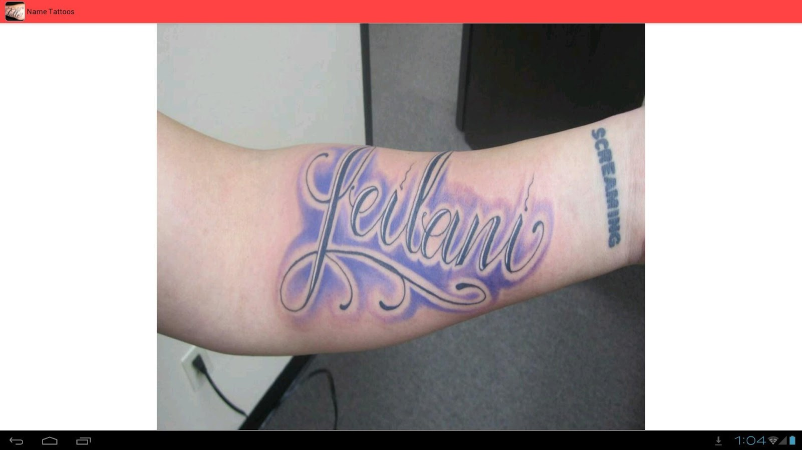 Name Tattoos Ideas - Android Apps on Google Play