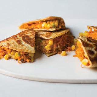 Sweet Potato Quesadillas.