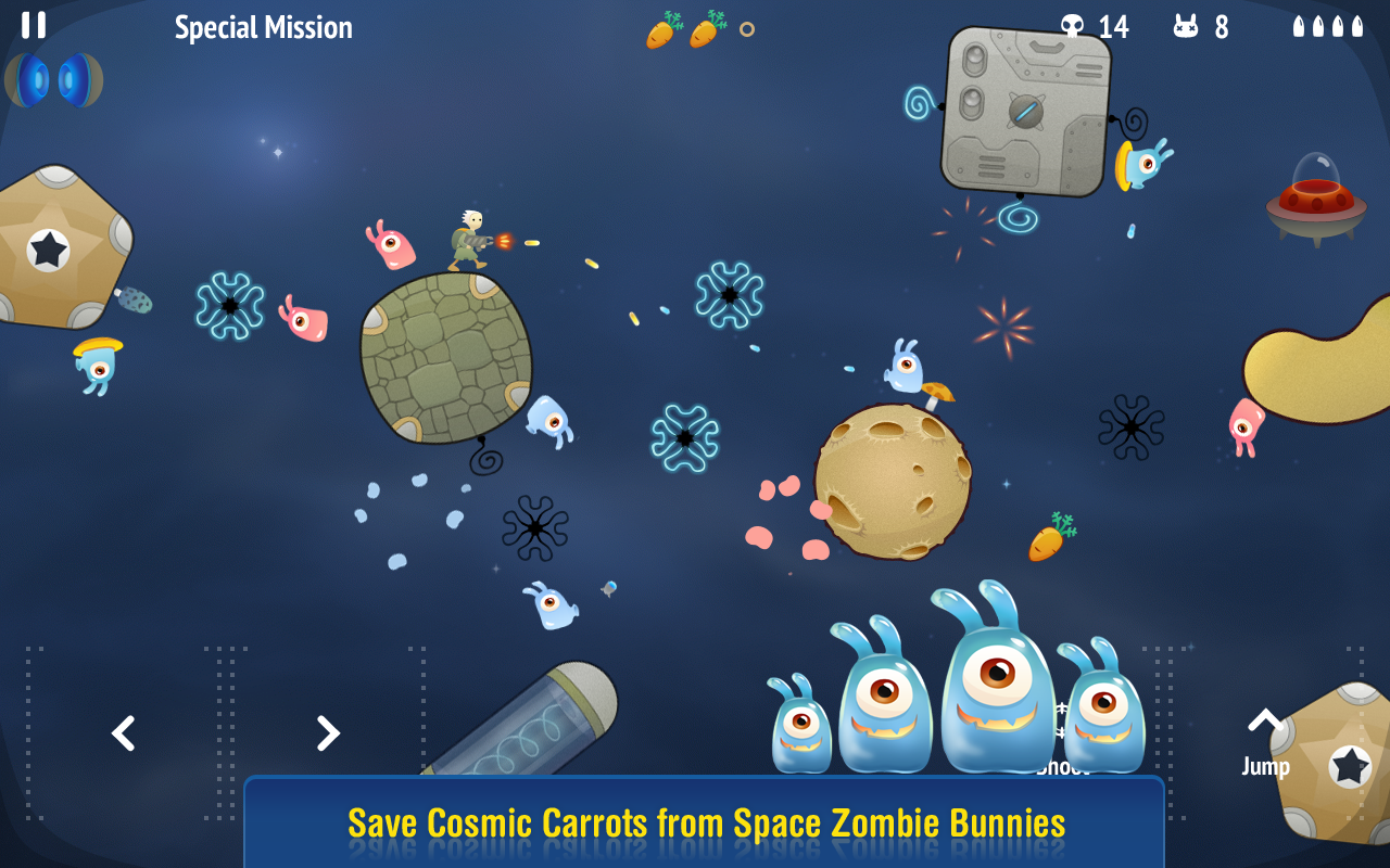 Space Bunny Shooter - screenshot