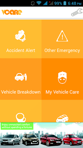 vcare - vehicle care app