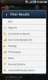MasterCard PayPass Locator Screenshot 6