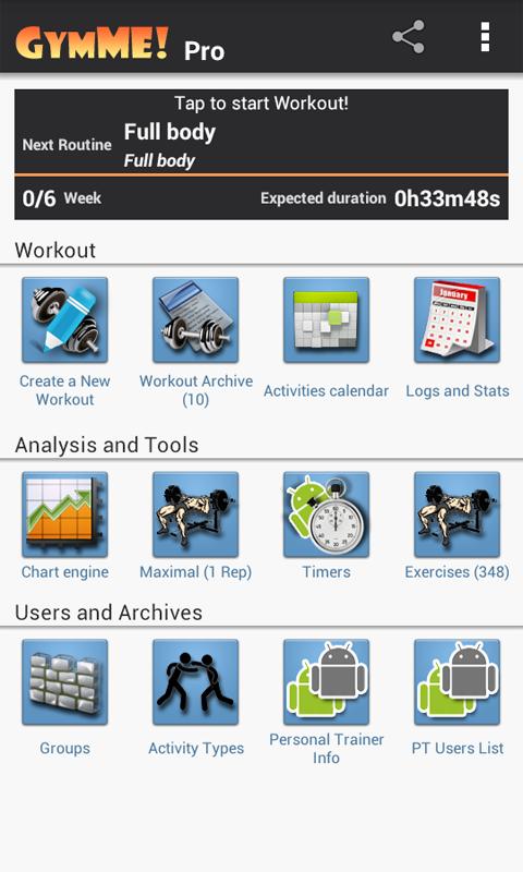 Gymme - Gym Personal Trainer - screenshot