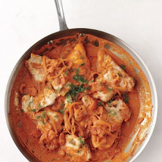Turkey-and-Onion Paprikash