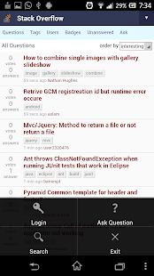 SoClient - StackOverflow - screenshot thumbnail