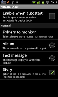 Auto Uploader Free - screenshot thumbnail