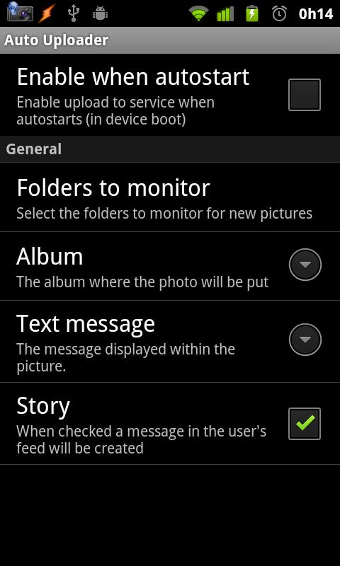 Auto Uploader Free - screenshot