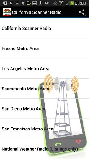 Scanner Radio California FREE
