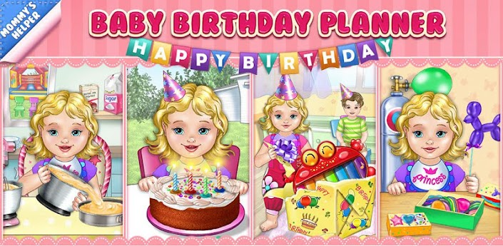 play baby birthday party planner game online