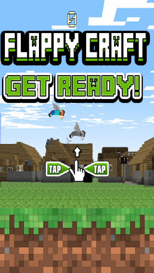 Flappy Craft! - screenshot