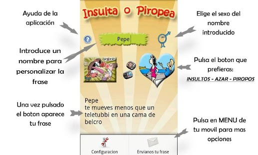 Insultos y Piropos PLUS - screenshot thumbnail