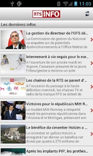 RTSinfo (Android 2.x) - screenshot thumbnail