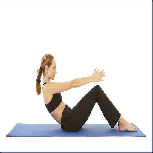 Упражнения Пилатес LOGO-APP點子
