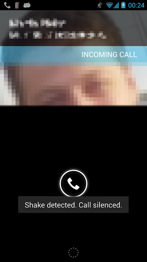 Silencer - Shake to Mute Calls - screenshot