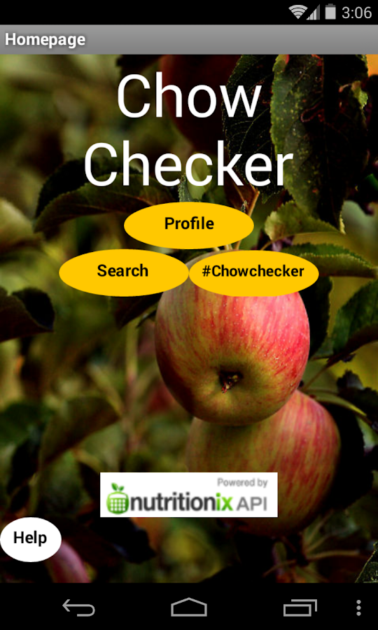 Chow Checker - screenshot