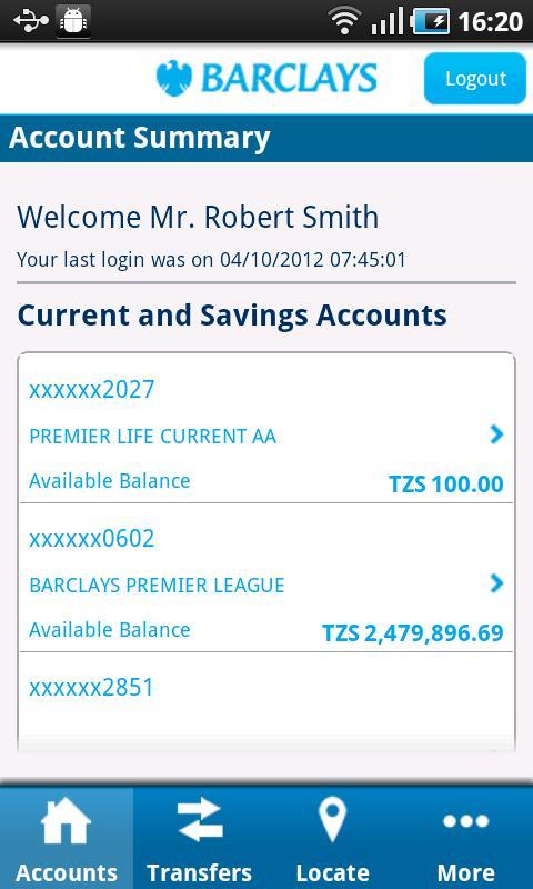 Barclays Tanzania - screenshot