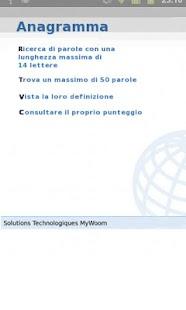 enigmWord Italiano- screenshot thumbnail