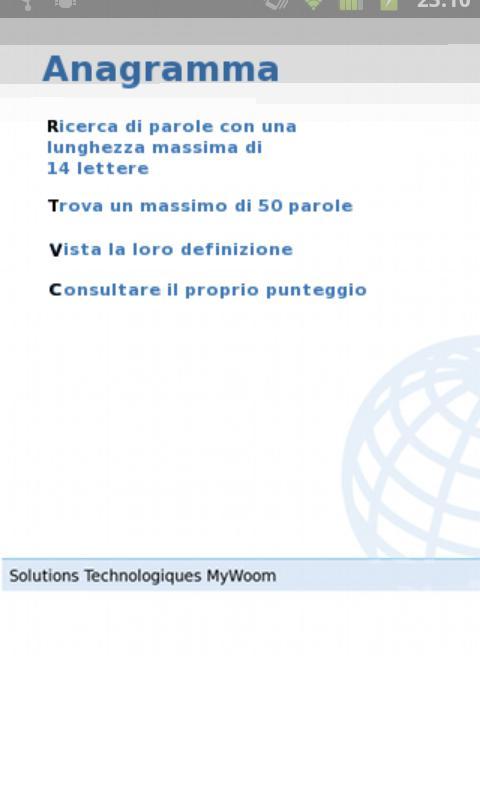 enigmWord Italiano- screenshot
