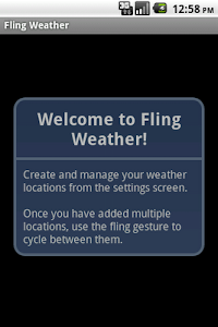 Fling Weather screenshot 2