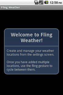 Fling Weather - screenshot thumbnail