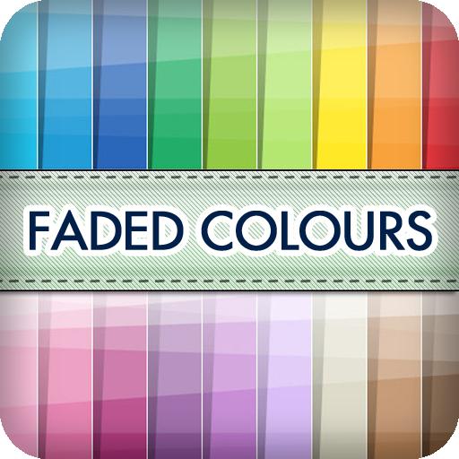 褪色的颜色壁纸 個人化 App LOGO-硬是要APP