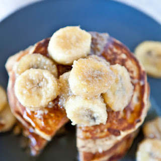 Caramelized Bananas (Gluten Free with Vegan option)